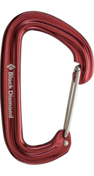 Black Diamond Neutrino Carabiner Red